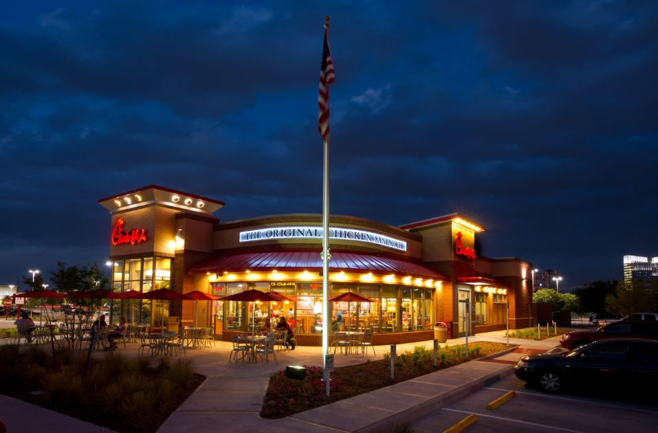 chick-fil-a store hd photos