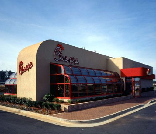 chick-fil-a store hd photo