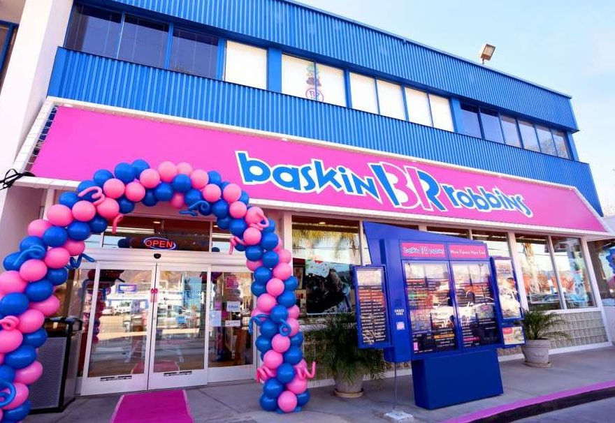 Baskin Robbin store photo
