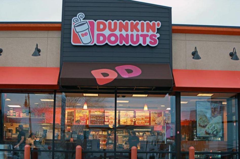 dunkin donuts store wallpaper
