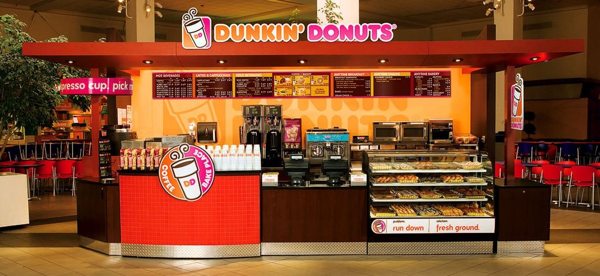 dunkin donuts store photo