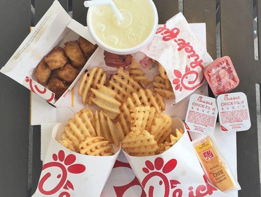 chick-fil-a menu image