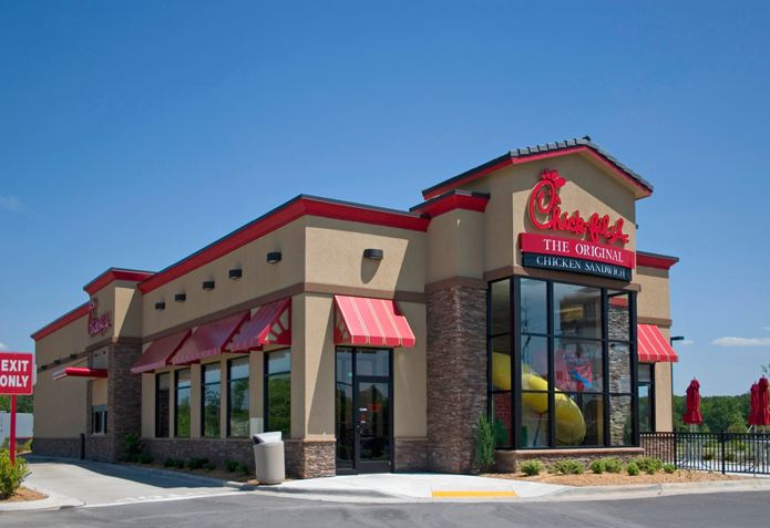 chick-fil-a store photos