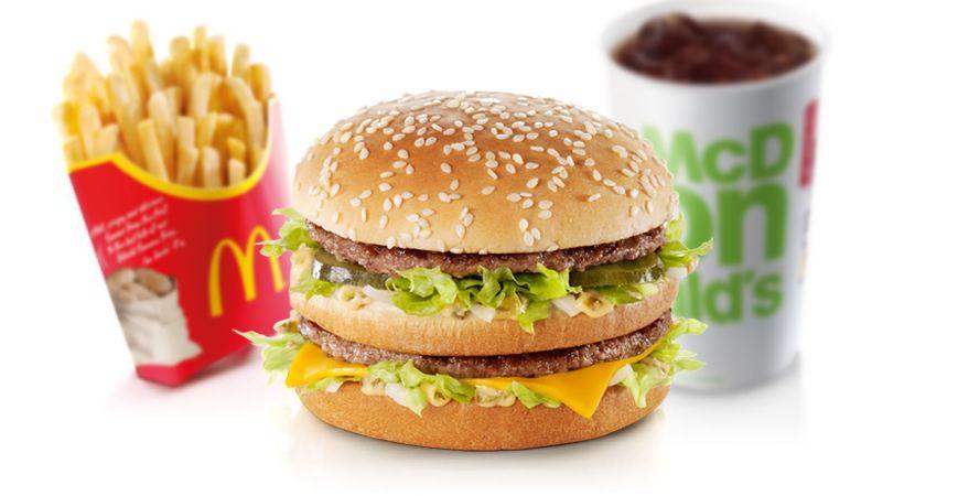 macdonald menu image