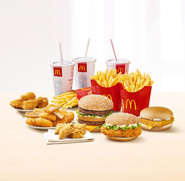 macdonald menu photo