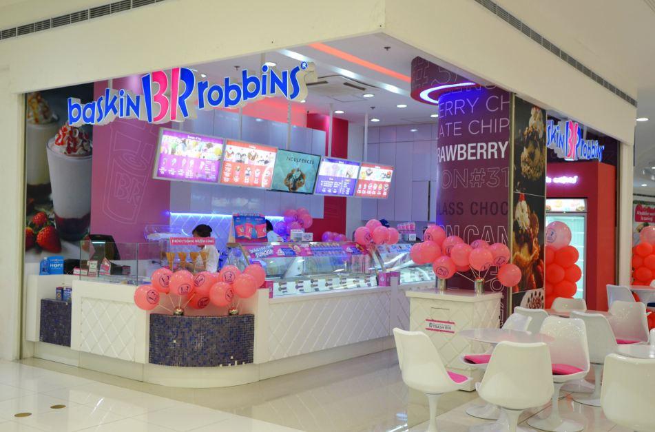 Baskin Robbin store