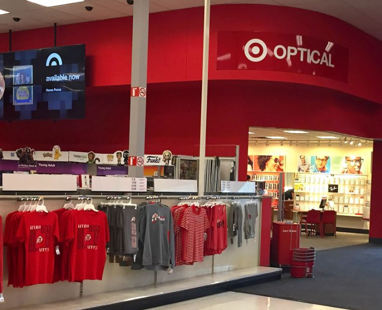 target optical hours of operation and near me locations